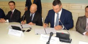 Віталій Кличко і Нафтогазова Асоціація України підписали Меморандум про спільну протидію нелегальному бізнесу