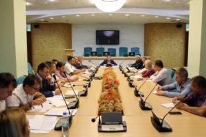 Состоялось первое заседание оперативного штаба по диверсификации путей поставки нефтепродуктов