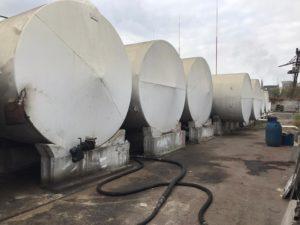В Киевской области налоговая милиция закрыла две нелегальные нефтебазы